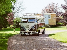 VW Campervan weddding hire in Fareham
